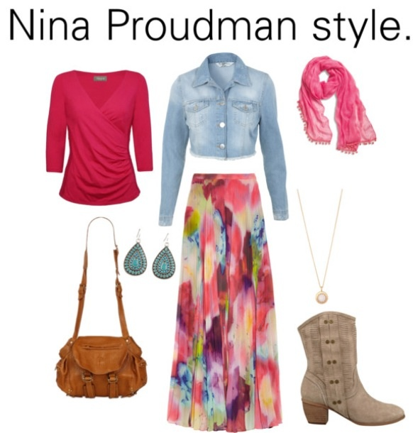 I have no clue who Nina Proudman is but I love this outfit! Nina proudman fashion inspiration offspring style