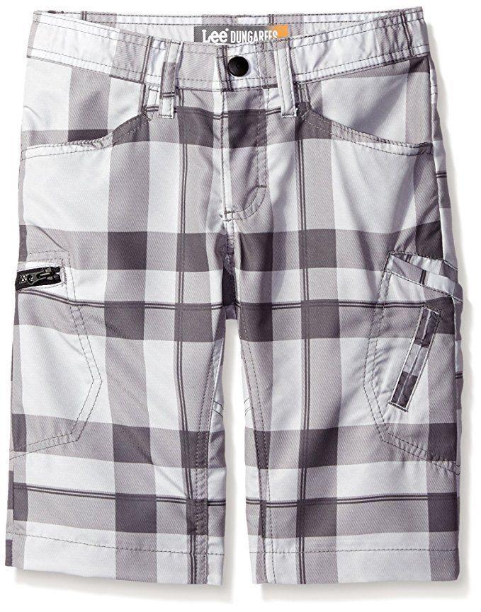 LEE DUNGAREES Boys Grafton Cargo Shorts Quick Dry Adjustable Zip Pocket 14 18 #Lee #Cargo #CasualSchoolEveryday