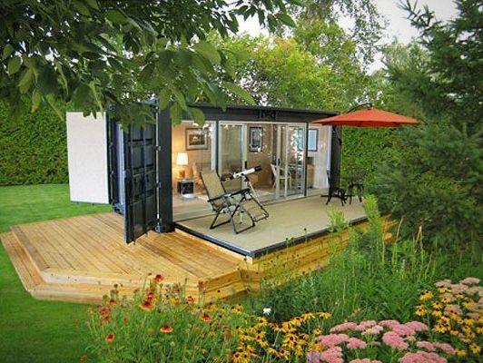 Container SA: 10 Casas Container com até 30 m²: Cidade, Praia ou Campo