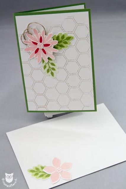Stampin' Up! Karte Flower Patch