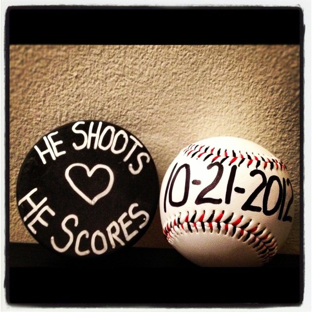 Cute!! But with 2 pucks!