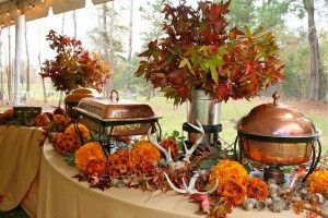 Fall Wedding Buffet