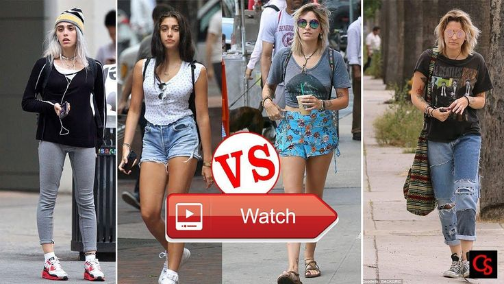 Michael Jackson's Daughter Paris Jackson VS Madonna's Daughter Lourdes Leon  Michael Jackson's Daughter Paris Jackson VS Madonna's Daughter Lourdes Leon Thanks for Owners of the Photos Thanks