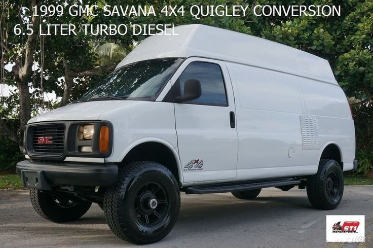 1999 GMC Savana ONAN KUBOTA DIESEL GENERATOR 4X4 QUIGLEY | eBay Motors, Cars & Trucks, GMC | eBay!