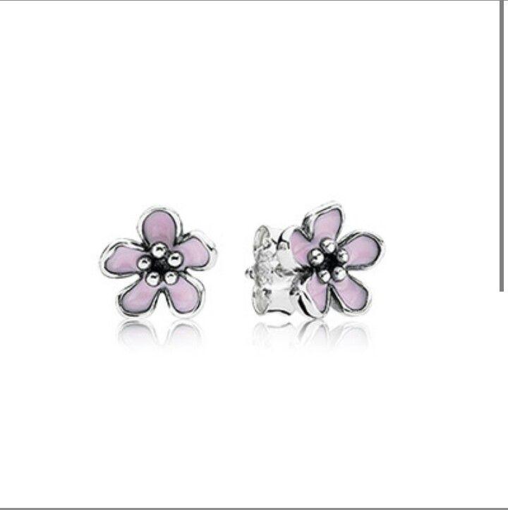 Orecchini Pandora fiori di ciliegio