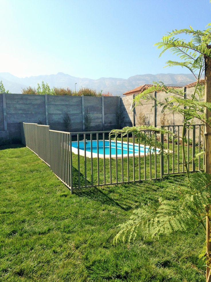 Jardín Particular Chicureo. Un Jacarandá, lindo arbolito que otorgará sombra en las temporadas de calor.