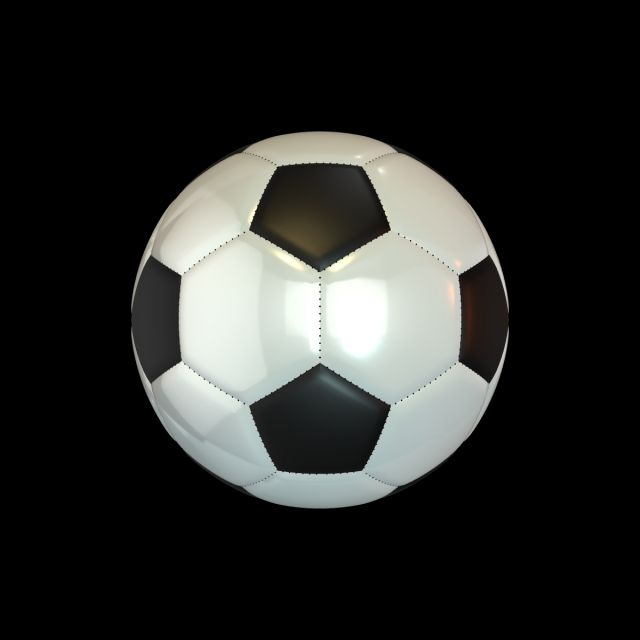 3d Soccerball 3d Soccerball Soccer Ball Shiny Metallic Football Sport