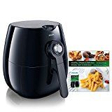 Philips Airfryer, The Original Airfryer with Bonus 150+ Recipe Cookbook, Fry Healthy with 75% Less Fat, Black HD9220/28