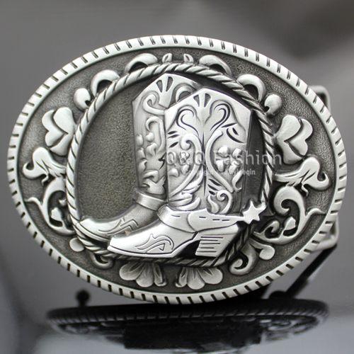 Старинные серебряные западная ковбой пастушка сапоги шпоры родео пряжки ремня линию ювелирных танец бесплатная доставка купить на AliExpress