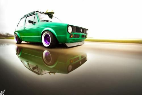 We remember selling the classic #VW Golf years ago...what a cool modern interpretation!