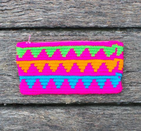 Mobolso - Wayuu Mochilas - Wayuu Clutch Purse - Felicita