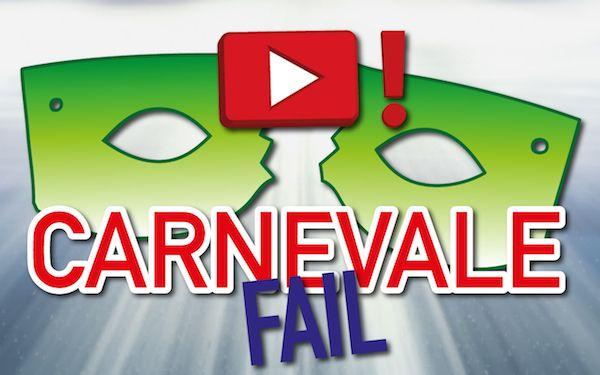 Ecco la raccolta pazzesca che stavate aspettando: buone risate a tutti con il peggio di Carnevale! CLICCATE QUI PER VEDERE IL VIDEO!
