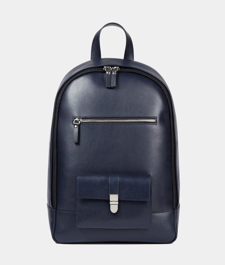leather backpack - unisex leather backpack for all your iDevices | Léo et Violette