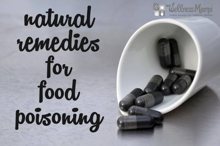 Natural and safe remedies for food poisoning