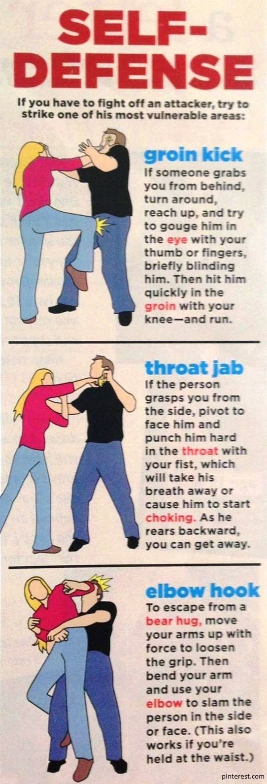 Staying safe comes first in any fight, then you can punch back the attacker! Here are five body parts you must defend regardless of the nature of the attack.