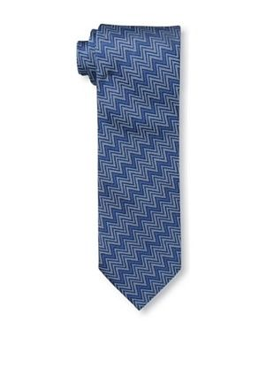 53% OFF Missoni Men's Horizontal Zig Zag Tie, Blue