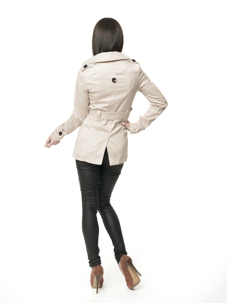Damen Designer Trenchcoat Mantel Übergangsjacke Damenjacke Sommer Kurz S,M,L,XL   eBay