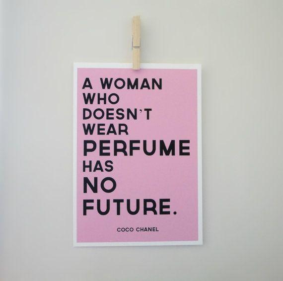Coco Chanel, Perfume Quote - 2