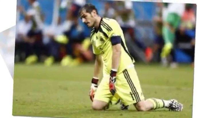 Perjalanan Dan Kekalahan Spanyol Di Piala Dunia 2014