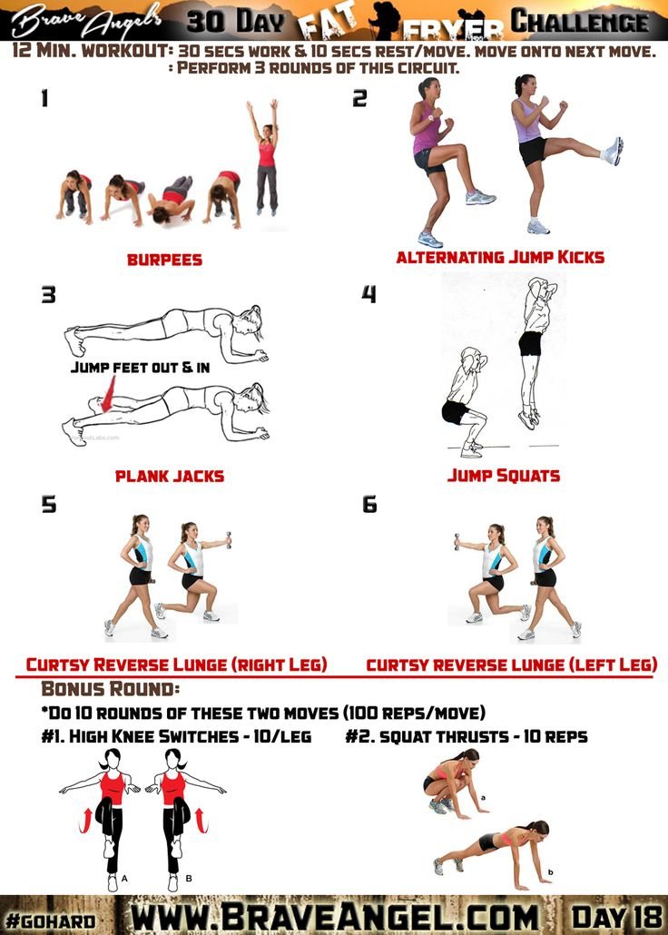 26 best workout images on Pinterest | At home workouts, Free ...