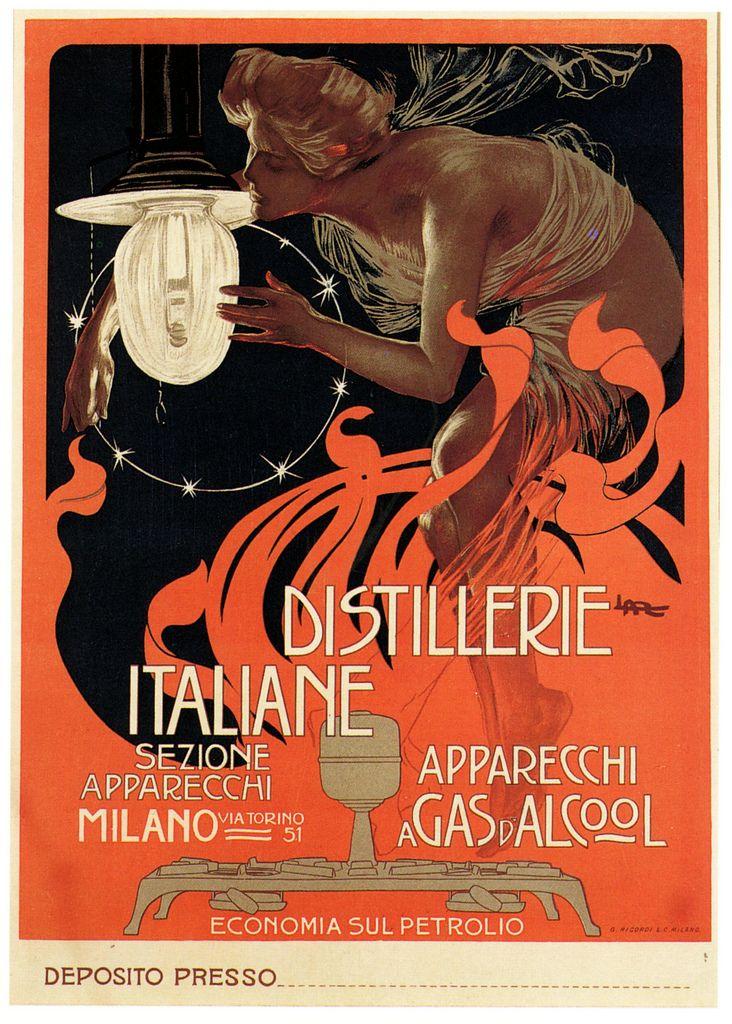1890's poster by Leopoldo Metlicovitz.