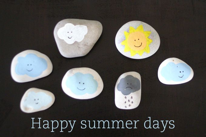 DIY- weather forecast - set in stone!