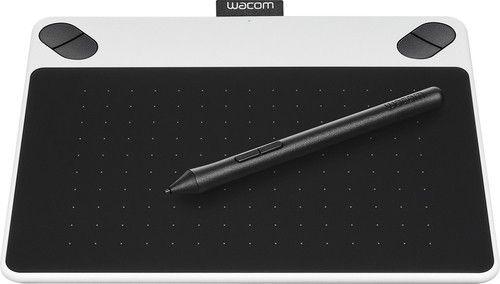 Wacom - Intuos Draw Creative Small Pen Tablet - White