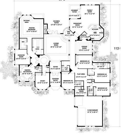 Family home plans 58272 pendant.