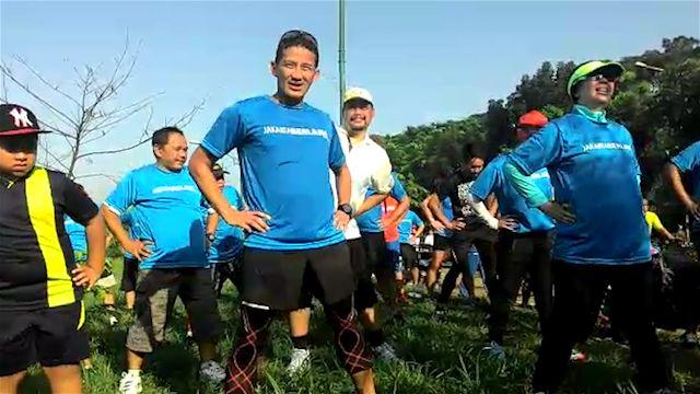 Untuk melihat warga Jakarta, Sandiaga Uno gelar aksi lari bersama. Tapi apakah hal ini dinilai ampuh untuk menyerap aspirasi penduduk ibukota?