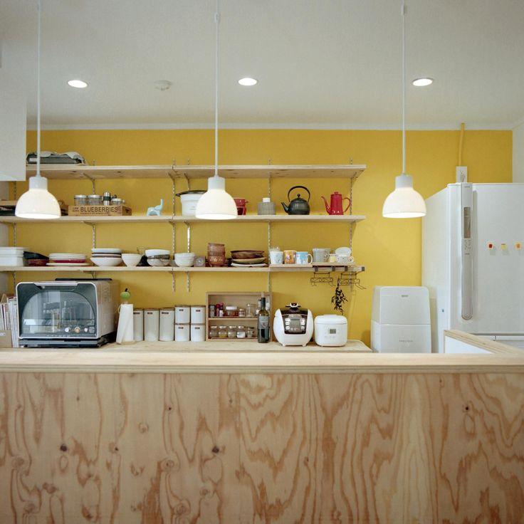 キッチン事例:キッチン(こどもと成長する家)