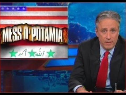 Jon Stewart Tackles Crisis in Iraq - 'What the F*ck Is Going On?!'