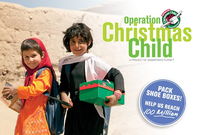 Operation Christmas Child — Samaritan's Purse Canada is a nondenominational evangelical Christian organization that provides spiritual and physical aid to hurting people around the world since 1970.