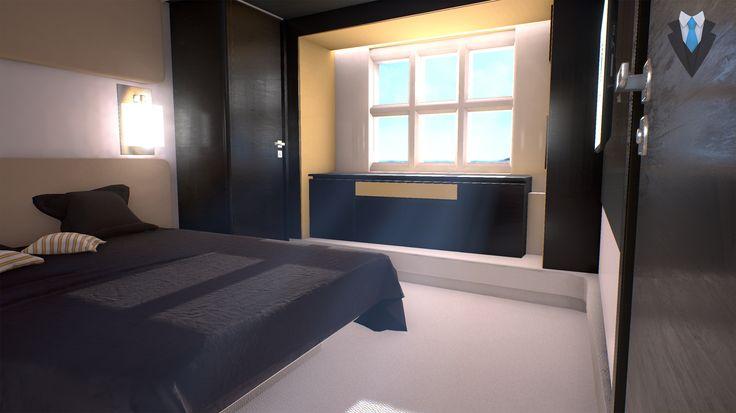 Yacht cabin #nigis #virtualreality #realtàvirtuale #vrapp #vr #immersivity #interactivity #personality #project #design #project #design #yacht #sea #ocean