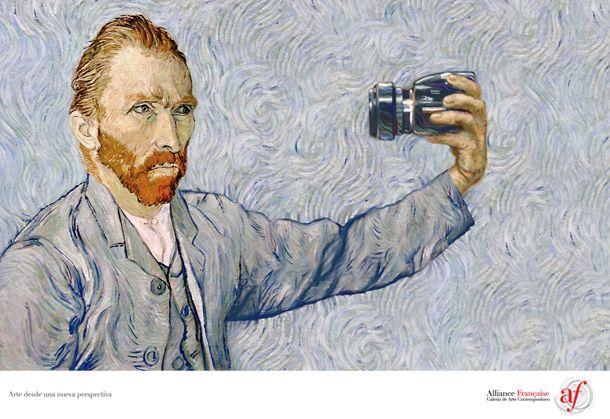 Van Goghin selfie
