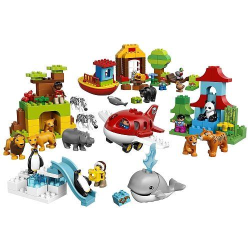 """Site d'entreprise Toys""""R""""Us - LEGO Duplo Le tour du monde (10805)"""
