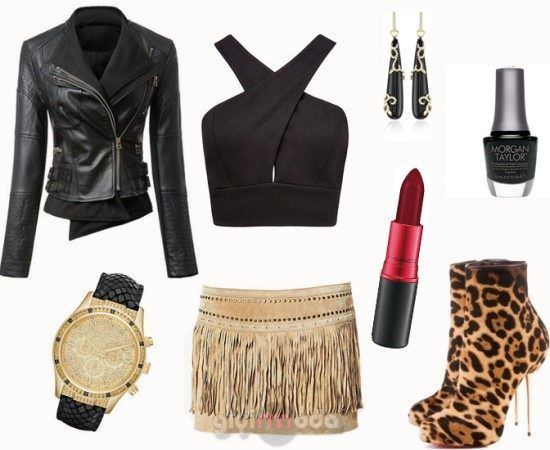 #camel suede skirt and leopard combinations =>http://www.giyimvemoda.com/devetuyu-camel-renk-kombinleri.html