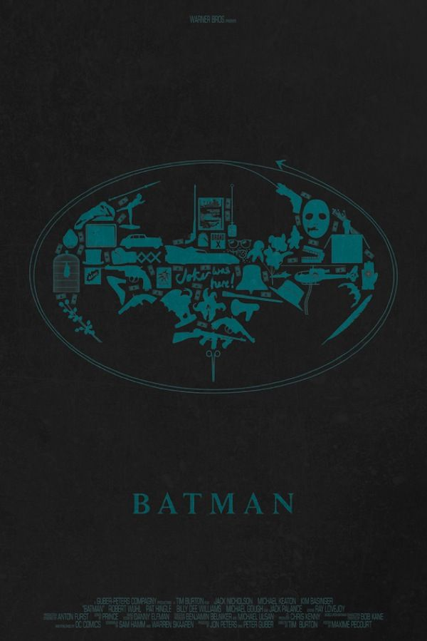 Object Movie Posters Batman
