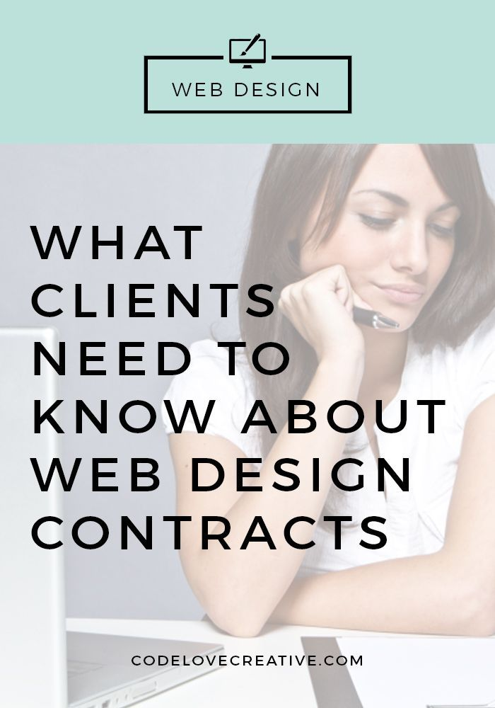 What Clients Need to Know About Web Design Contracts | Get the free 7-day course ---> How to Find the Right Web Designer