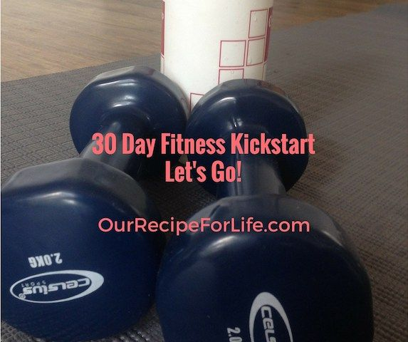 30 Day Fitness Kickstart - 1 week down, 3 more to go!