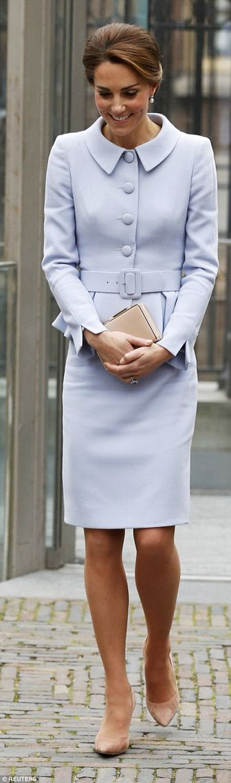 Powder Blue Suit // Kate in the Netherlands