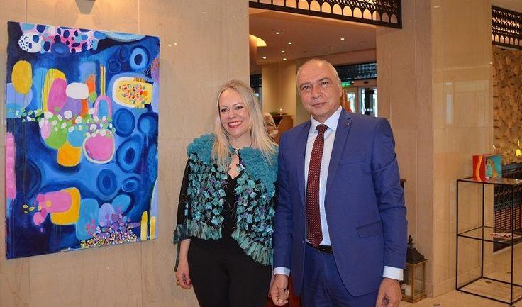 Joanna Chrysohoidis 'Unfolds' Her Art at Sofitel Athens Airport.