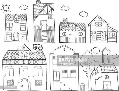 Best 25 House Doodle Ideas On Pinterest House