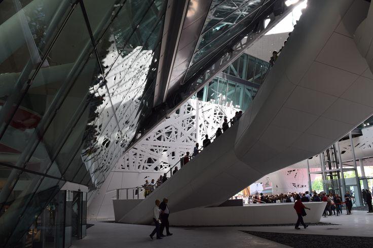 Inside of the Italian Pavilion