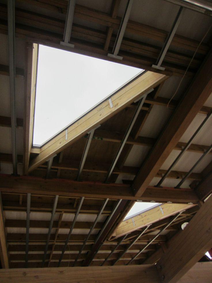 Triangular Skylights Interesting Architectural Details