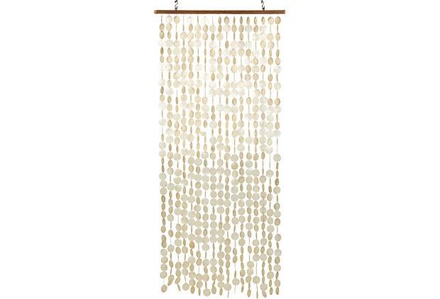 Vintage Capiz Shell Curtain On OneKingsLane