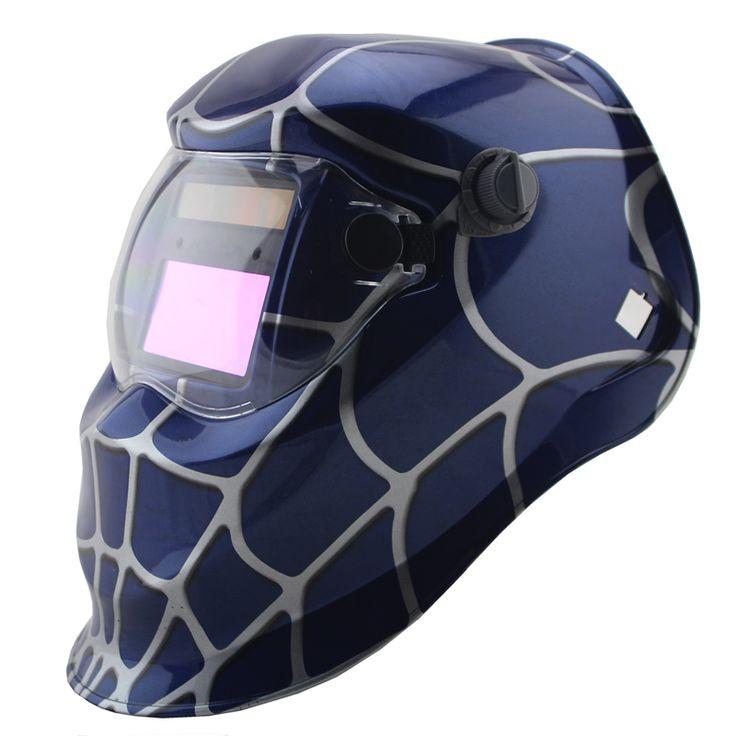 Barato Aranha azul solda Auto escurecimento Solares/polonês moagem/capacetes/soldador/máscara de olhos óculos/cap para TIG MMA máquina de solda MIG, Compro Qualidade Capacetes de Soldador diretamente de fornecedores da China: Aranha azul solda Auto escurecimento Solares/polonês moagem/capacetes/soldador/máscara de olhos óculos/cap para TIG MMA máquina de solda MIG