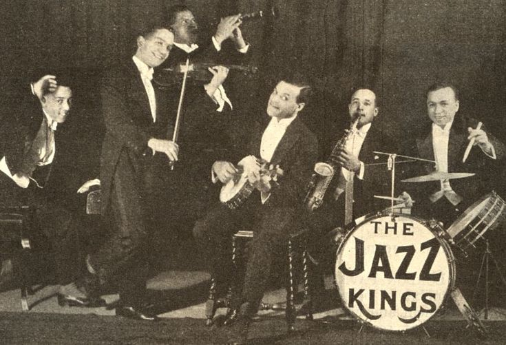 Jazz+Band+Music Entertainment in the 1920's