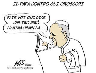 Papa Francesco e gli astrologi