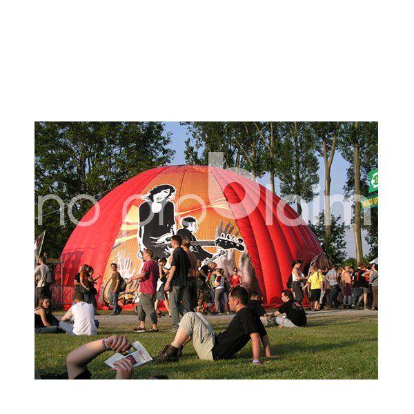 Airshelter und Iglu Zelte: Bringen Sie Ihre Werbebotschaft in Bestform. Eventzelt, aufblasbare Aussenwerbung, Spinnenzelt,