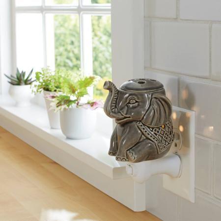 Better Homes and Gardens Accent Wax Warmer Elephant - Walmart.com